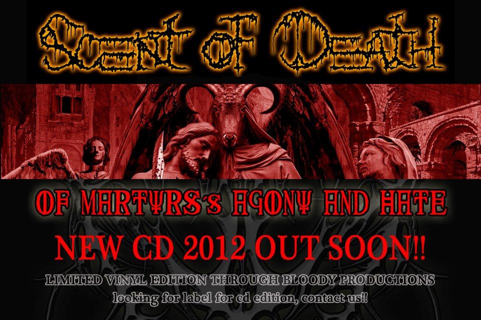 Nuevo disco de SCENT OF DEATH