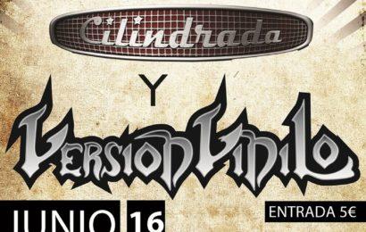 CILINDRADA + VERSIÓN VINILO el 16 de junio en Toledo