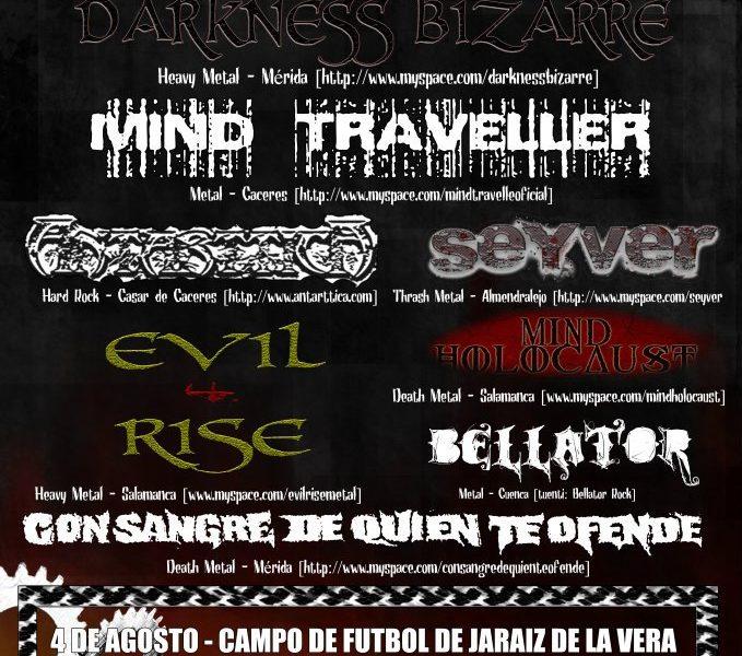 Noticias desde EvilMind Records con MIND HOLOCAUST y EVIL RISE