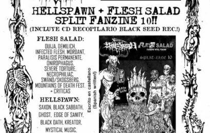 FLESH SALAD Y HELLSPAWN sale el Splitzine nº 10