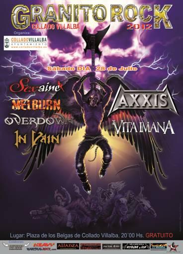 GRANITO ROCK 2012, mañana día 28 en Madrid.