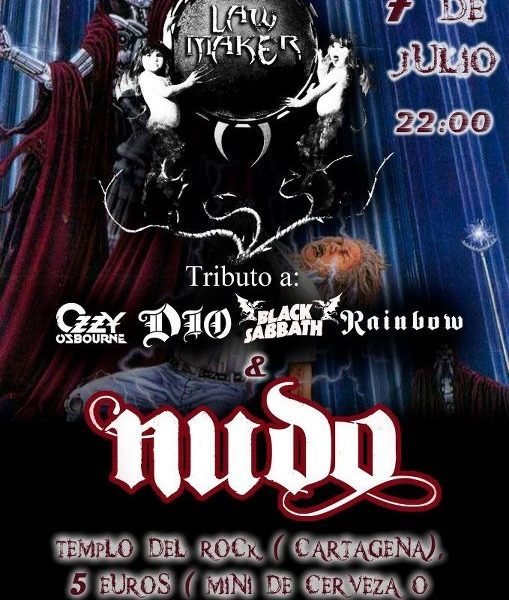 LAW MAKER + NUDO el 7 de julio