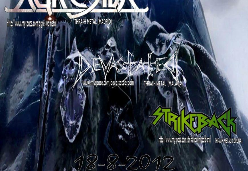 AGRESIVA confirmados para el Legions Of Metal Fest H.M.C