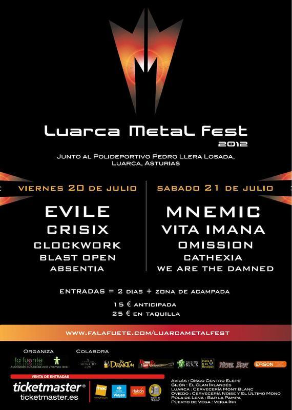 LUARCA METAL FEST 2012