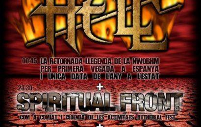 METAL DEFENDERS, décimo aniversario con los clásicos HELL.