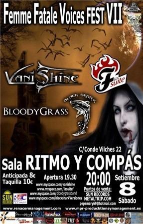 VANISHINE en el FEMME FATALE VOICES FEST VII.
