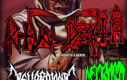 Death Metal Massacre, tributo a DEATH – Organizado por METALMERIA