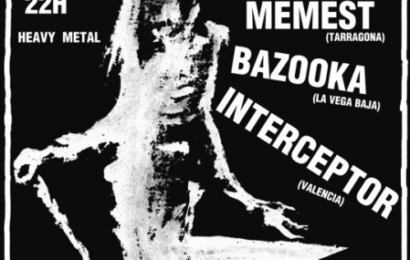 CEMENTERIO + MEMEST + BAZOOKA + INTERCEPTOR, 1 de septiembre