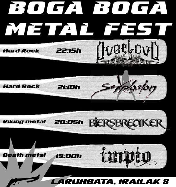 OVERLOUD en Boga Boga Metal Fest