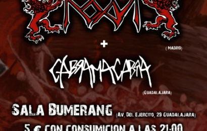ROAR + CABRA MACABRA – Concierto el 31 de agosto