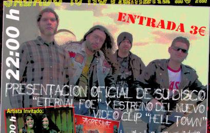 AGRESIVA – Presentación oficial de Eternal Foe  en Madrid