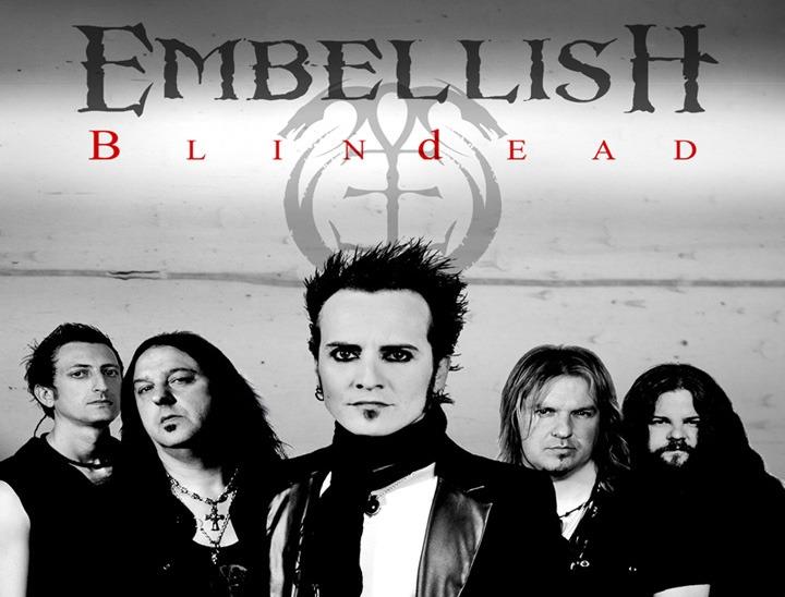 EMBELLISH comienza su «Blindead tour 2012»