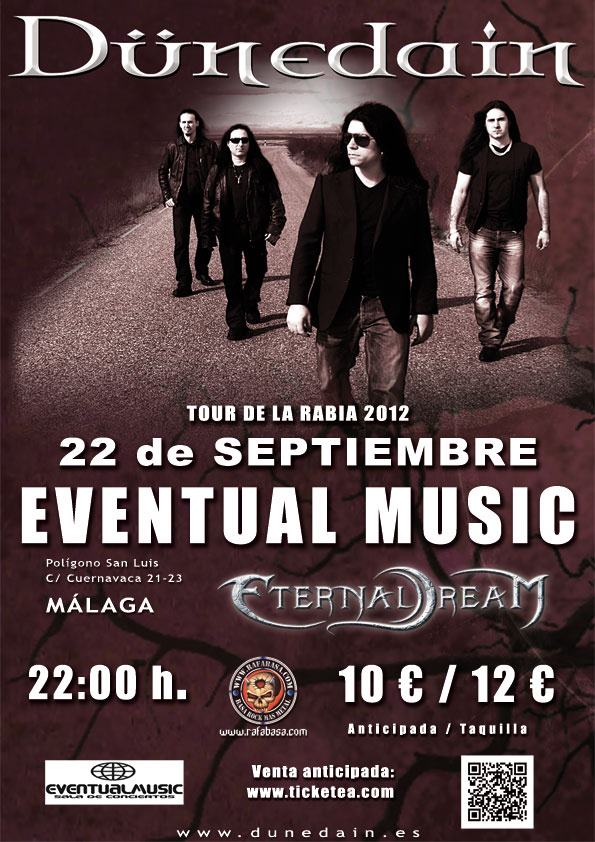 DÜNEDAIN + ETERNAL DREAM en Málaga