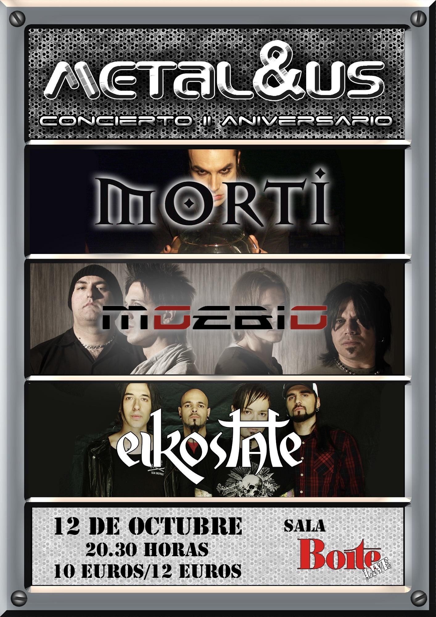 EIKOSTATE + MOEBIO + MORTI  12/10/12