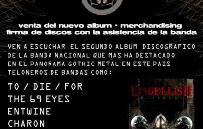 Fiesta presentación del nuevo disco de EMBELLISH