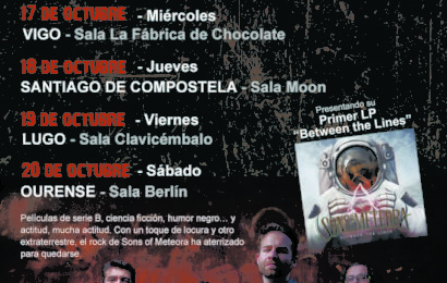 Gira gallega de SONS OF METEORA