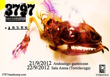 3797 actuarán este próximo fin de semana.