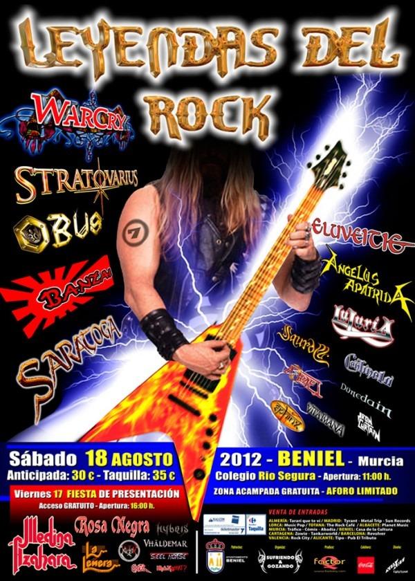 Leyendas del Rock Festival 2012 (Crónica-Reportaje)