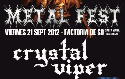 CRYSTAL VIPER en Witches Open Air (Metal Fest)