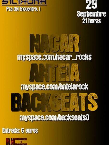 NACAR + ANTEIA + BACKSEATS 29/9/12