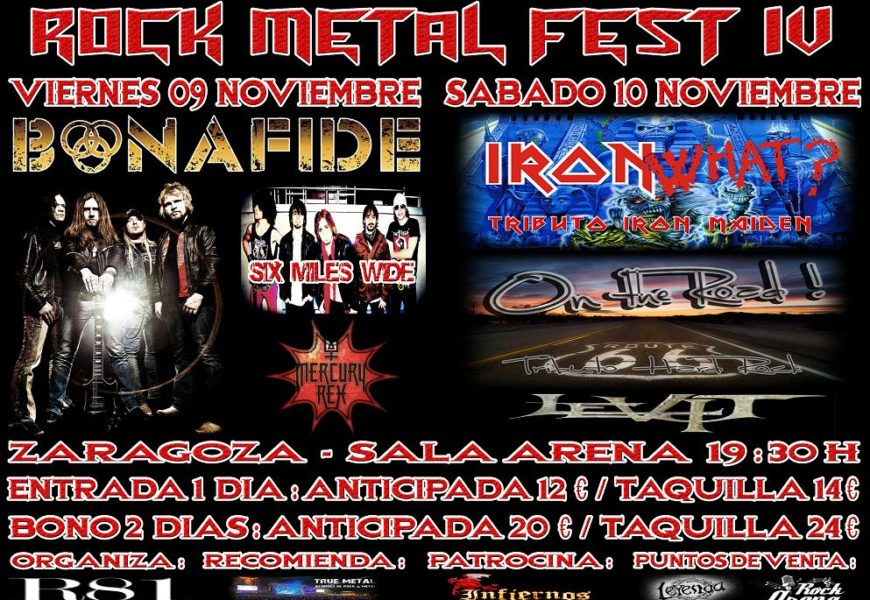 ROCK METAL FEST IV – ATRETIC INTESTINE – UNDER PROUD