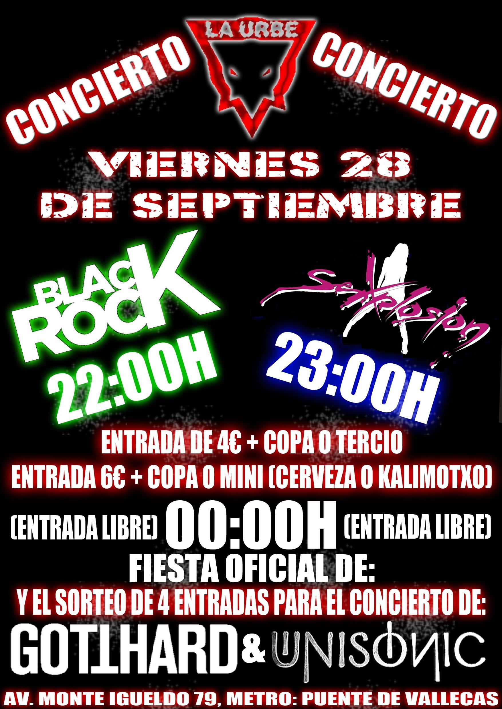 SEXPLOSION y BLACK ROCK en la Urbe del Kas