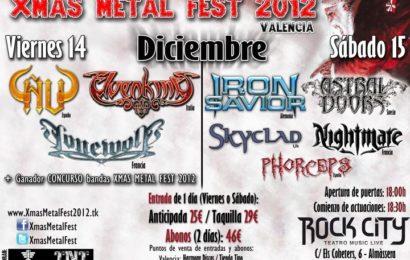 Abonos definitivos para el XMAS METAL FEST 2012