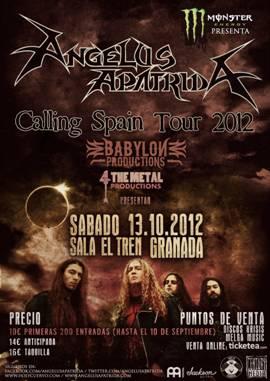 ANGELUS APATRIDA + DESECRATION en Granada