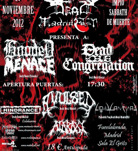 Summon The Dead Madridfest – MURO – TEN