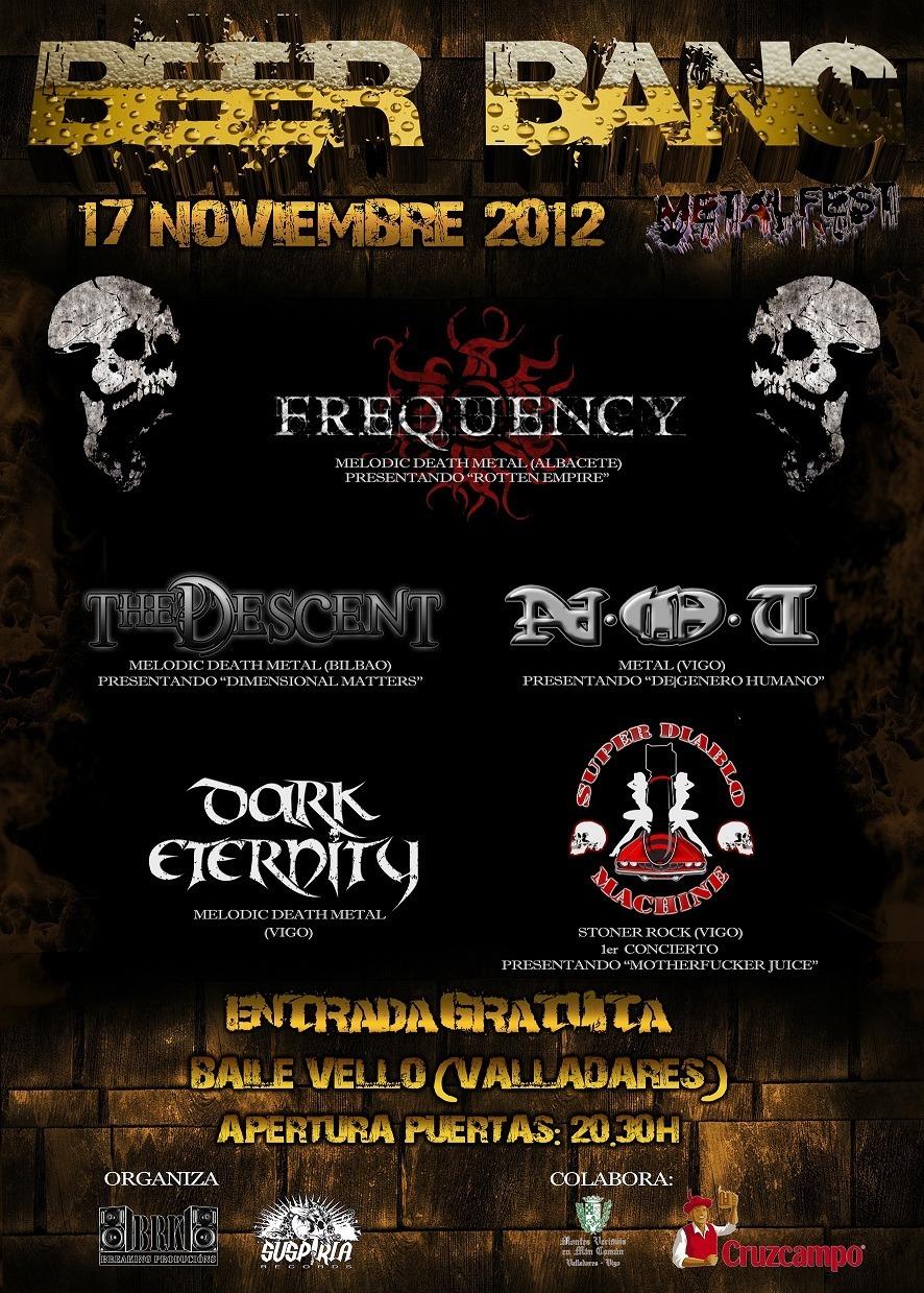 BEER BANG METAL FEST – 17 de noviembre en Vigo