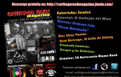 Nuevo número de Carthago Rock Magazine