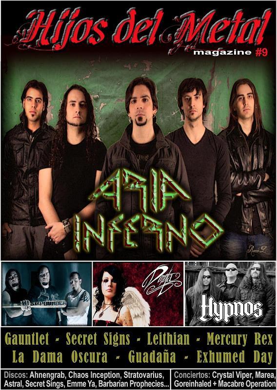 Fanzine HIJOS DEL METAL #9
