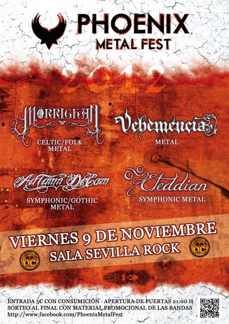Phoenix Metal Fest – 9 de noviembre