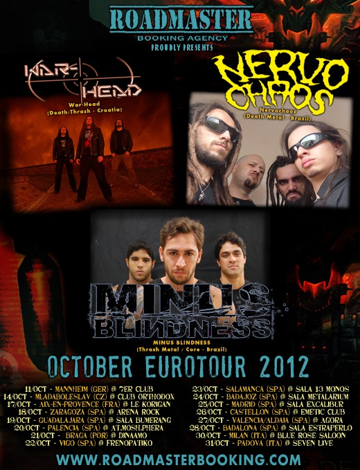 Concierto recomendado: thrash-death metal internacional en Guadalajara