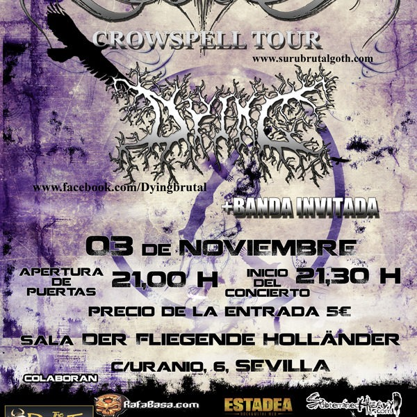 El Crowspell Tour de SURU pasará por Sevilla