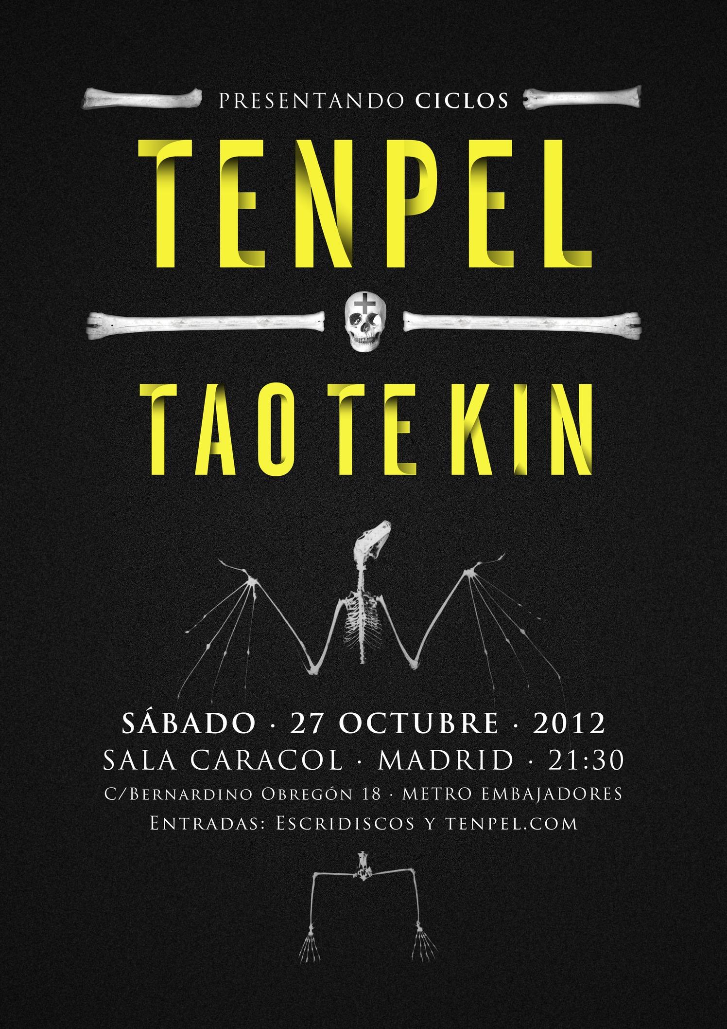 TENPEL en Madrid el 27 de Octubre