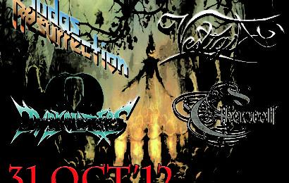 VESTIGIA, concierto de Halloween