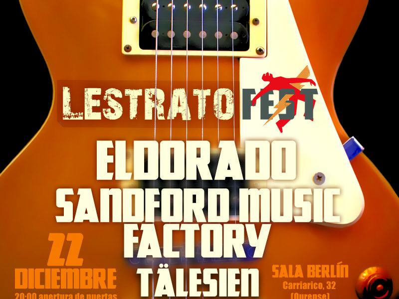 LESTRATO FEST 2012, el próximo día 22 de diciembre.