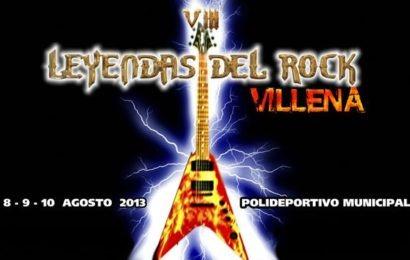 Primeras confirmaciones para el LEYENDAS DEL ROCK 2013.