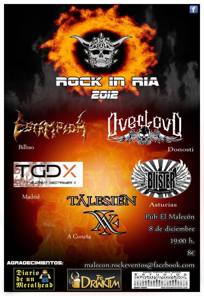ROCK IN RÍA – Avilés – 08/12/12