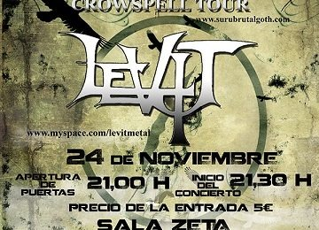 El Crowspell Tour de SURU pasará por Zaragoza