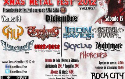 LUJURIA – LOBESIA – XMAS METAL FEST 2012