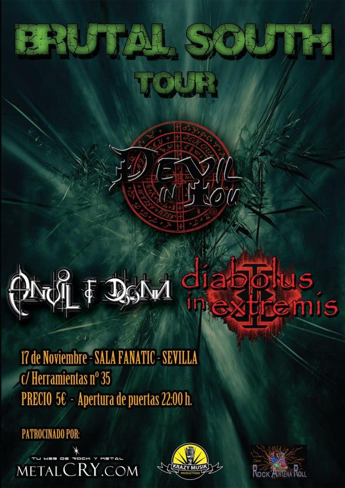 BRUTAL SOUTH TOUR – Sevilla -17/11/12