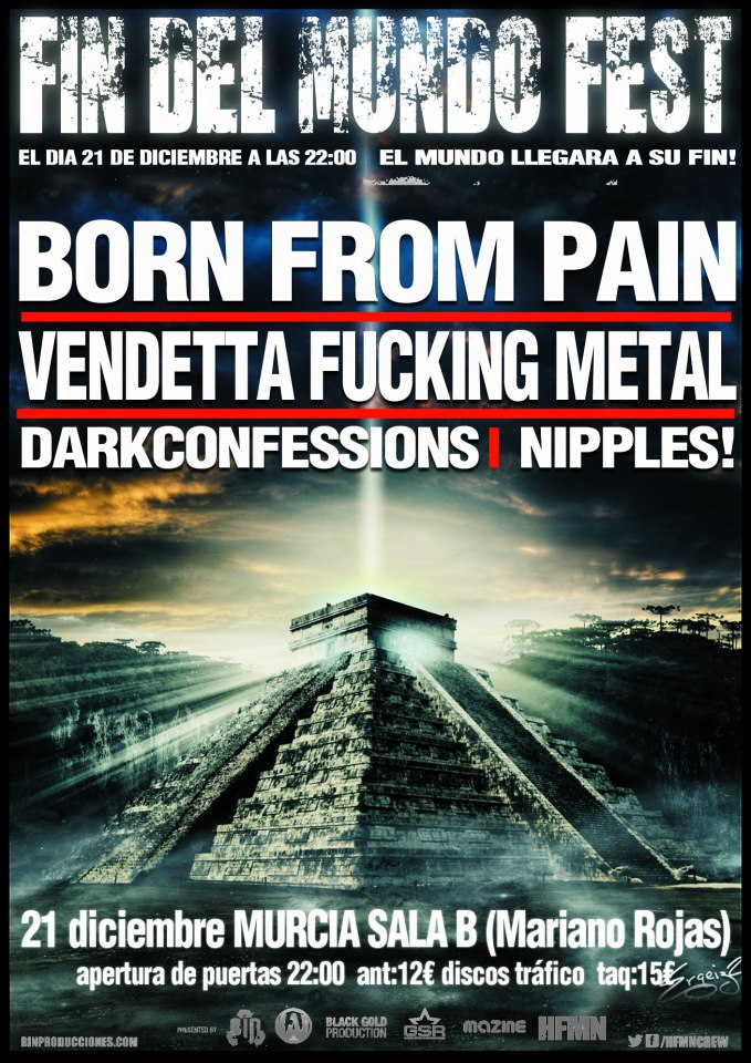 BOLU2DEATH – DEVIL IN YOU –  BORN FROM PAIN + VENDETTA F.M