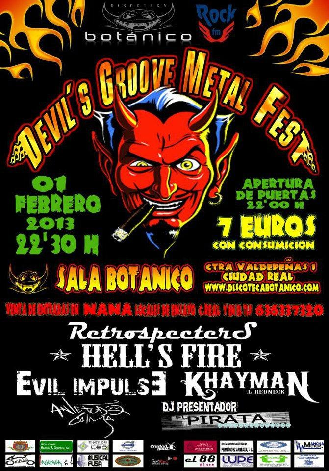 DEVILS GROOVE Metal Fest – LEO JIMENEZ –  DREED