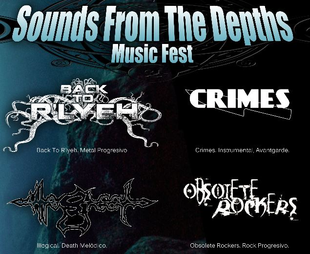 SOUNDS FROM THE DEPTHS Music Fest