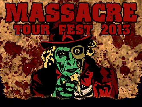 Confirmación exclusiva para MASSACRE TOUR FEST