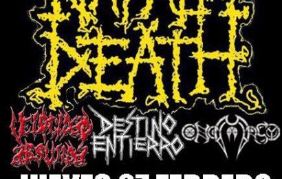 NAPALM DEATH – ROCK' ANTENA ROLL – BLACK ROCK