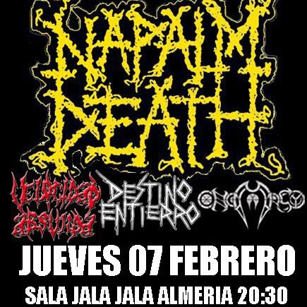 NAPALM DEATH – ROCK' ANTENA ROLL – BLACK ROCK