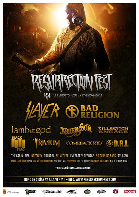 RESURRECTION FEST 2013 – Nuevas confirmaciones